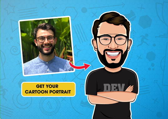 I will draw portrait cartoon caricature