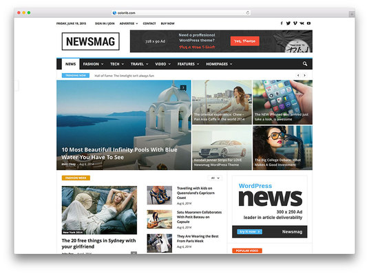 I will make automated news website