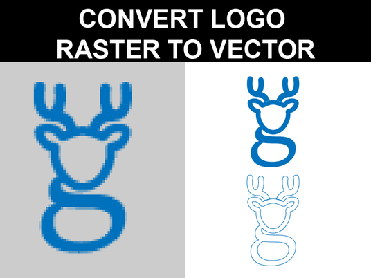 I will convert logo raster to vector in 24hrs