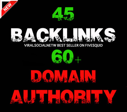 Provide 45 Backlinks From High DA 60  Domains-Skyrocket Your Google RANKING