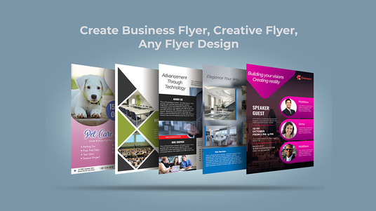 I will do awesome flyer design, creative flyer, any flyer design