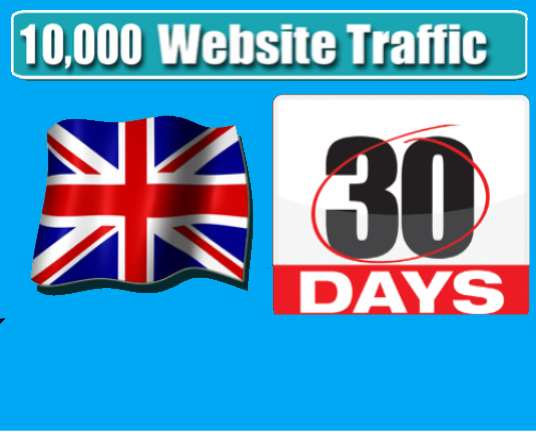 I will Drip feed 300 uk visits a day, every day to your website for 30 days