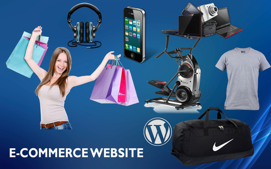 I will build  Wordpress eCommerce website  for your Dream Shop