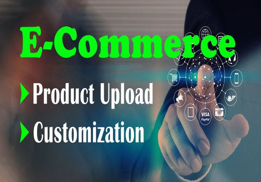I will Create, Add Products And Customize Your Ecommerce Website