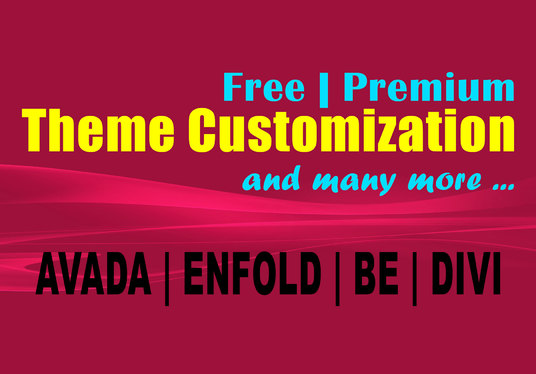 I will Customize, Fix or Configure any Wordpress Website or Theme