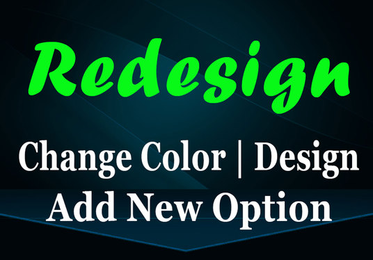 I will Redesign or Reshape your Website by adding New Functionality