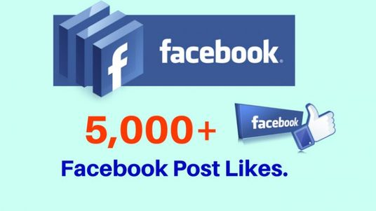 I will provide you 5,000+ Facebook Video,Photo,Post Likes