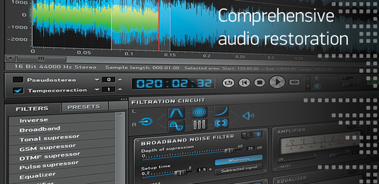 edit, restore and enhance your podcast or any audio