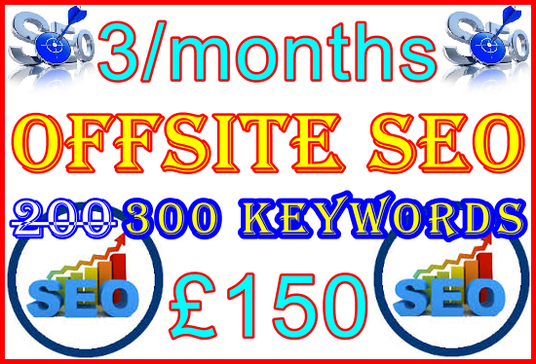 I will Target 300-keywords with Offsite SEO Importance - Free SEO Bonus Features