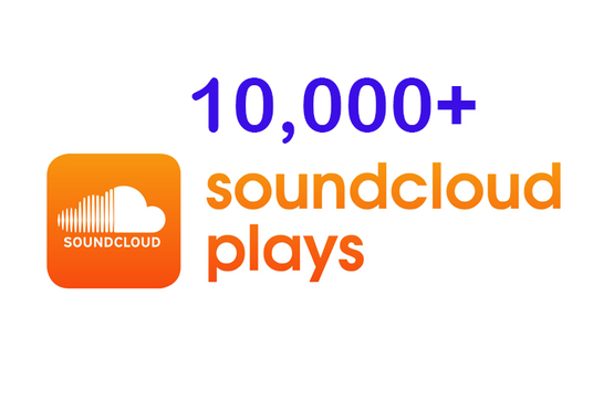 I will Provide 10000+ Soundcloud Plays