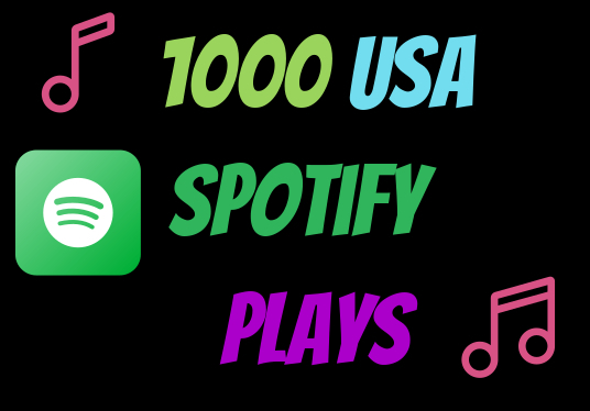 I will do best  organic  1000 Spotify Music promotion