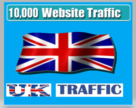I will give 10,000+ uk views to your website asap