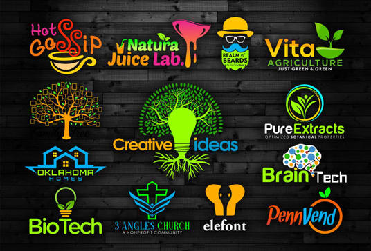 I will do awesome logo design with free vector file
