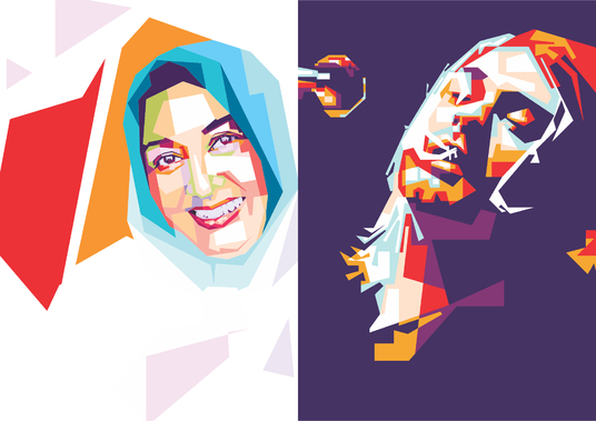 I will draw your picture by wpap  pop art to be more colorful and unique picture