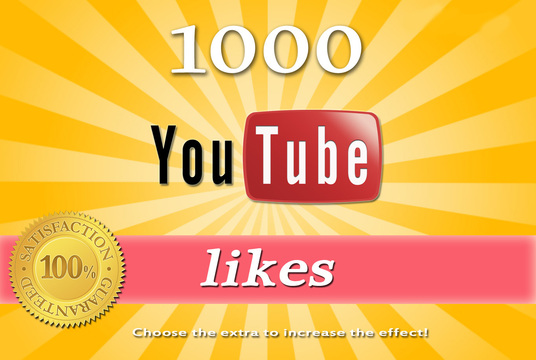 1000 very high quality nondrop youtube likes