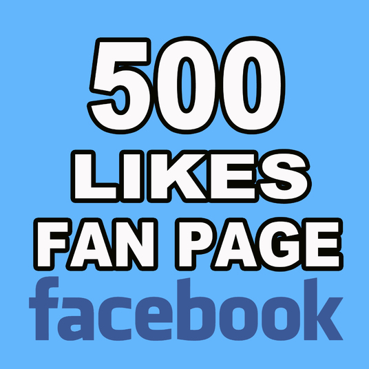 I will Give you 500 Real Facebook Fan Page Likes