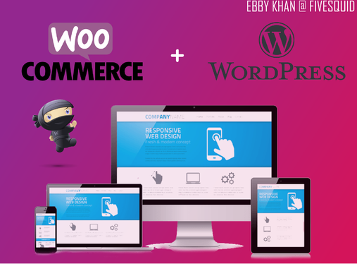 design ECommerce WordPress Website