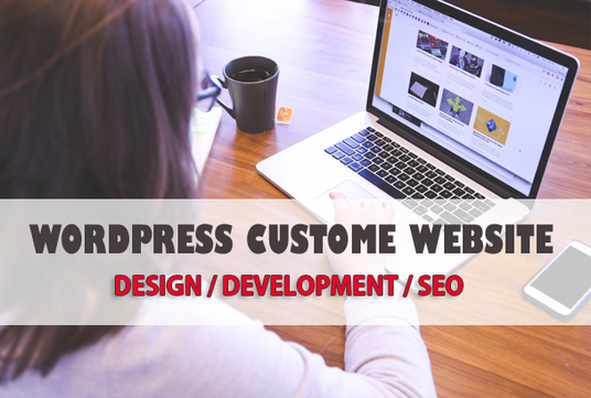 I will Create an Elegant Responsive Wordpress Website Or Design