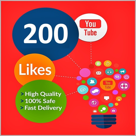 I will send 200 Youtube Video Likes - Real, Safe and Fast