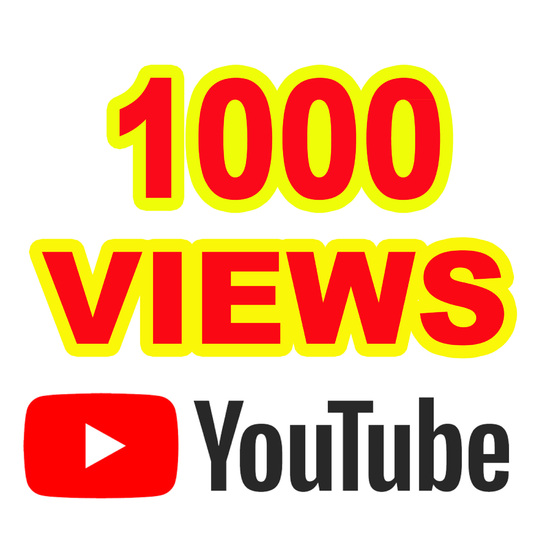 I will Give you 1000 YouTube Views  A+ Region Country