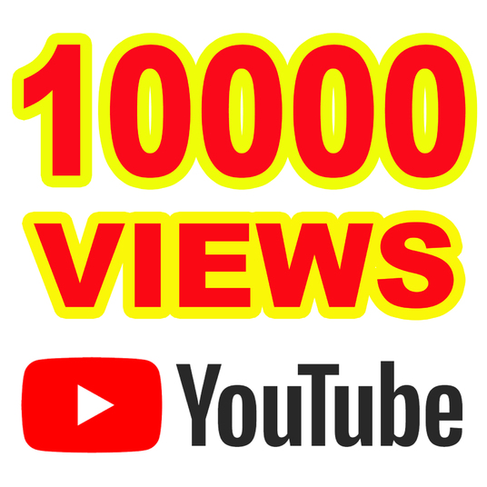 I will Give you 10000 Youtube Views