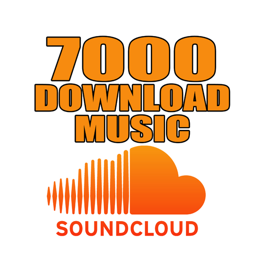 I will give you 7000 SoundCloud Music Download