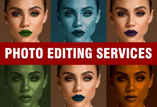 I will do any Photoshop editing or retouching