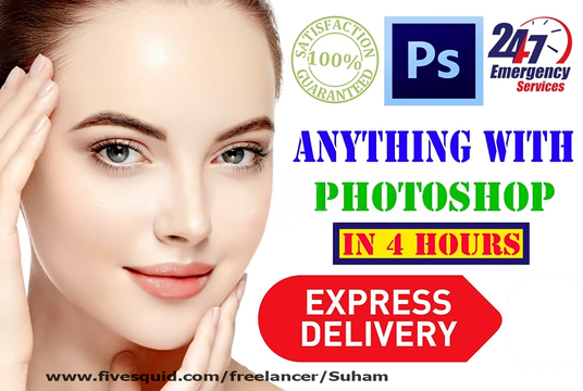 I will Do Professional Adobe Photoshop Editing,Photo Retouching