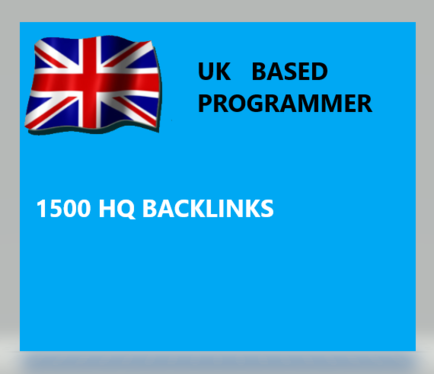 give you 1500+ hq google friendly backlinks
