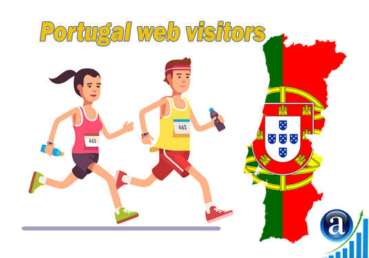 I will send Real web visitors from Portugal High Quality web traffic
