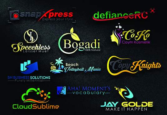 I will Do  Professional And Eye Catching Logo Design