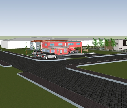 do a 2d , 3d floor plan, elevation and rendering design of your building and layout