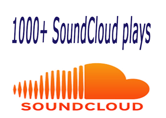 I will promote 1000+ SoundCloud plays
