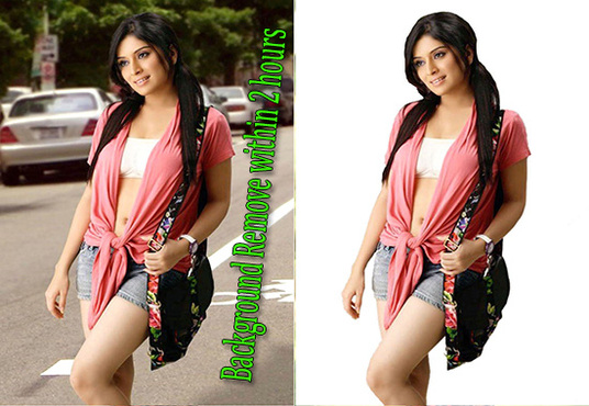 I will Remove background photo retouch photo editing work within 24 hours