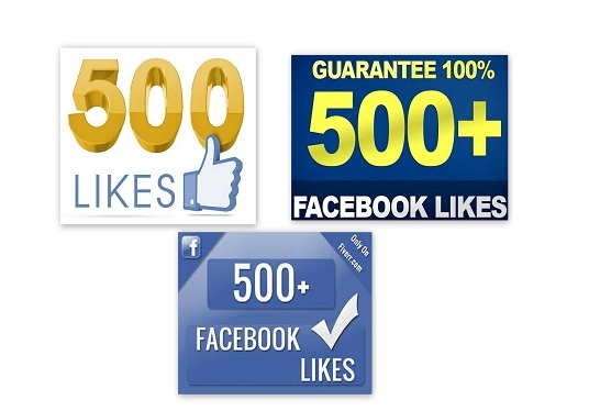 I will Add 500+ Real FACEBOOK Likes