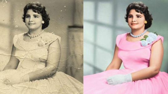 restore, repair, colorize old damaged photos