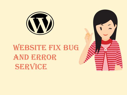 I will fix Wordpress Bug and Error Services