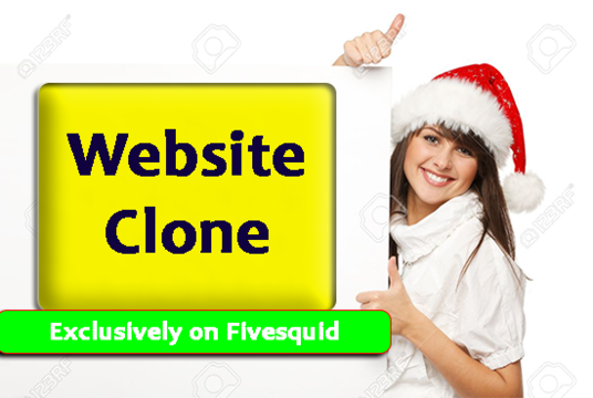 I will clone or create website using by divi page builder