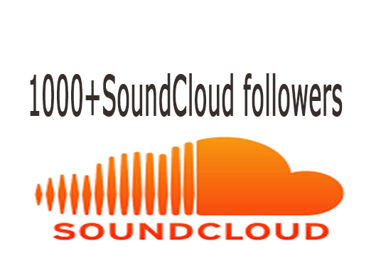 I will provide SoundCloud 1000+ followers