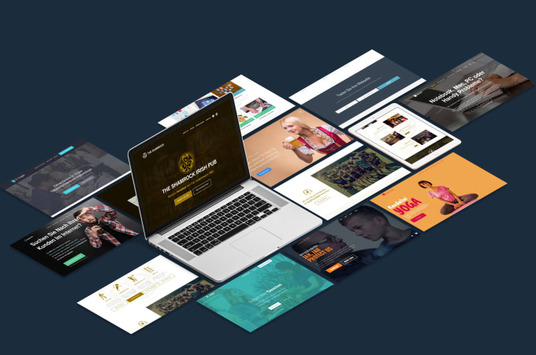 I will build an awesome landing page for you