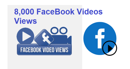 I will add 8,000 Face Book video views