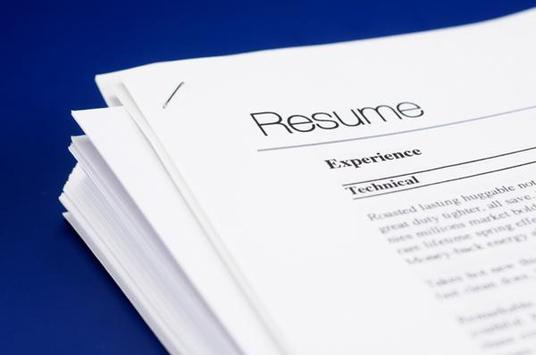 create a CV personalised for your industry