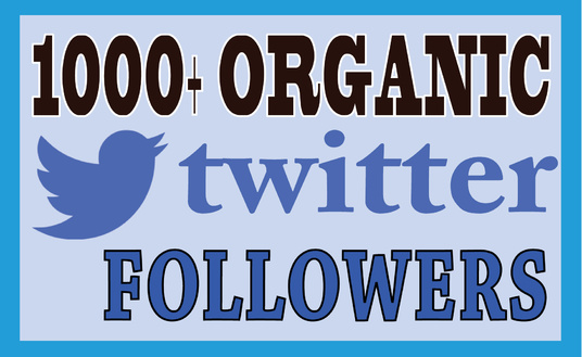 Provide 1000+ Real Twitter Followers