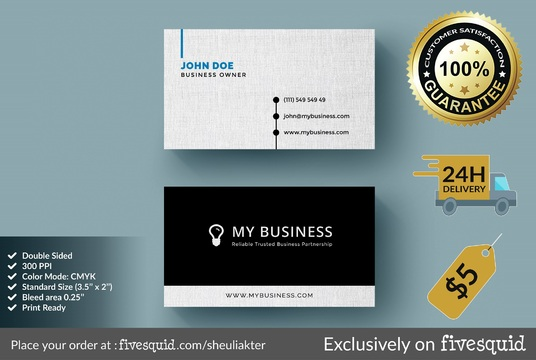 I will Do An Amazing Business Card