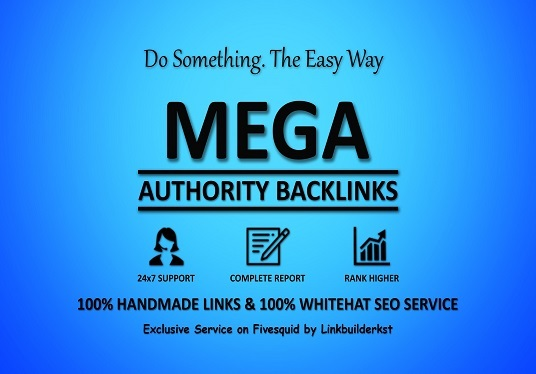 I will Skyrocket Your Google Ranking with Mega Authority Backlinks