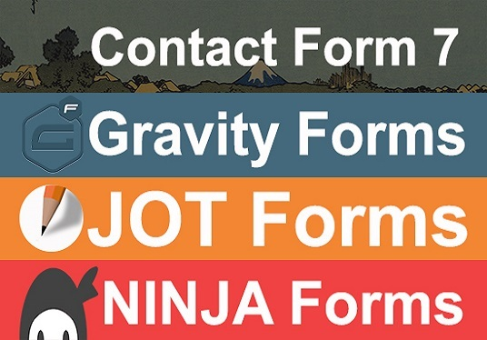 I will Design Contact Form 7, Gravity Forms, Ninja Forms, Jot Forms