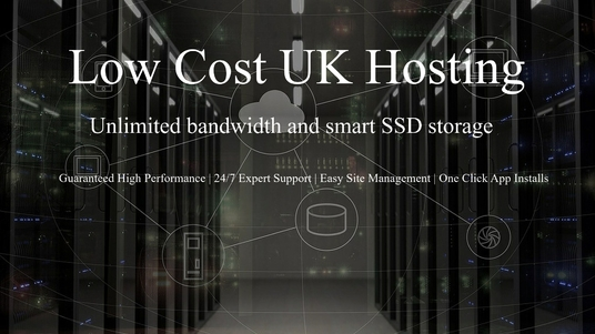 I will provide unlimited Low Cost - High-Performance UK Based Hosting for your website