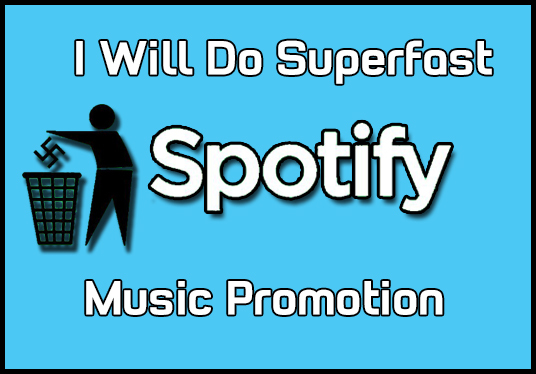 I will Do Super Fast Spotify  Promotion