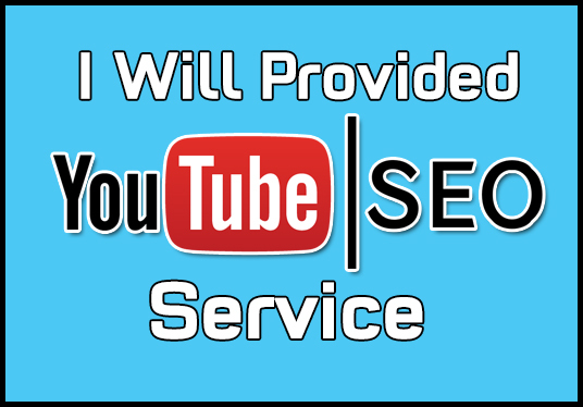 I will Do SEO To Rank Your YouTube  Video On First Page