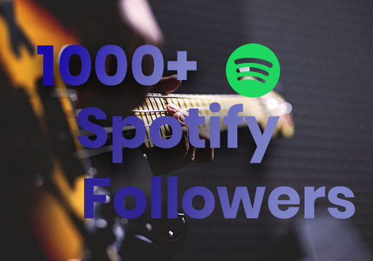 I will Provide 1000+ Spotify Followers